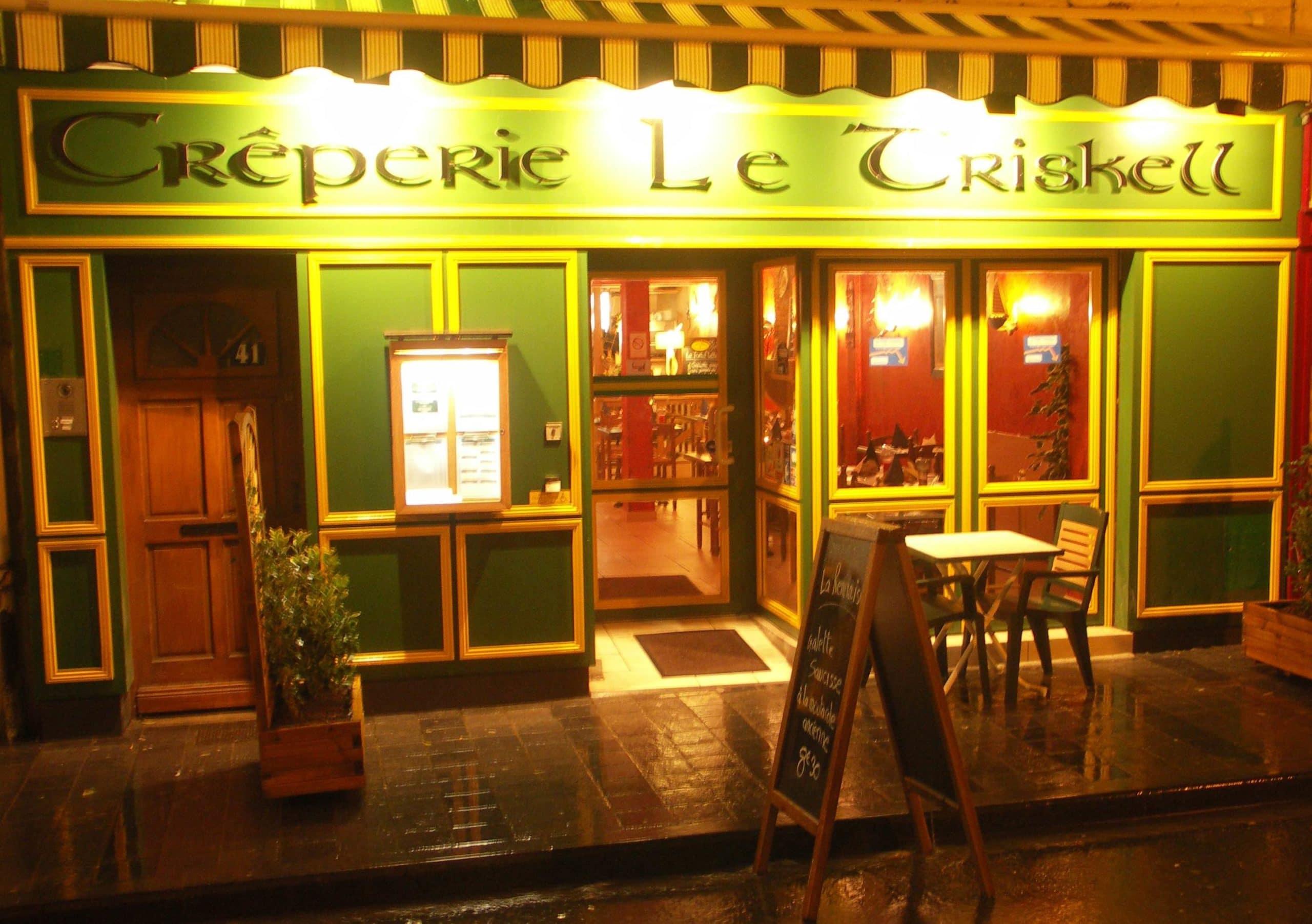 Façade du restaurant Le Triskell